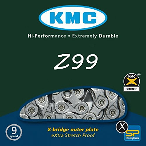 KMC Z99 Bicycle 9 Speed Bike Chain 116 link + Magic Button Fit Shimano SRAM Campagnolo by KMC-Mixim (Image #1)