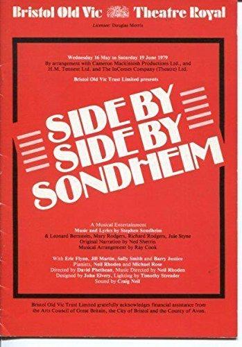 Eric Flynn Jill Martin Side By Side By Stephen Sondheim British 1979 P