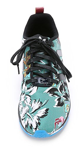 Adidas Originali Da Mary Katrantzou Womens Mk Zx Flux Sneakers Tech Jogger, Multi, 5,5 B (m) Us