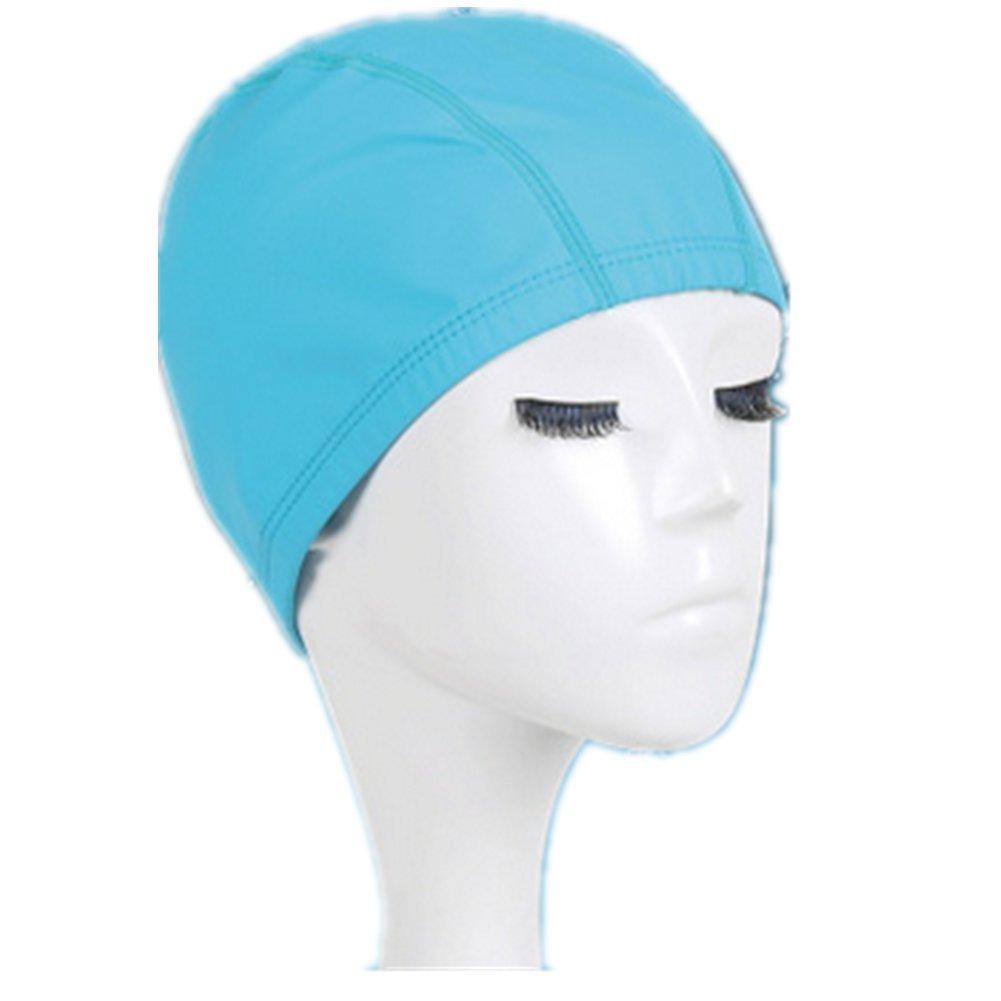 Aksautoparts Unisex PU Swim cap Fashion Style Bathing Caps for Swimming