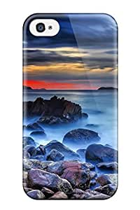 TYH - Premium Rock Back Cover Snap On Case For Iphone 4/4s phone case