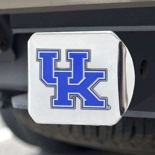 - FANMATS NCAA Kentucky Wildcats University of Kentuckycolor Hitch - Chrome, Team Color, One Size