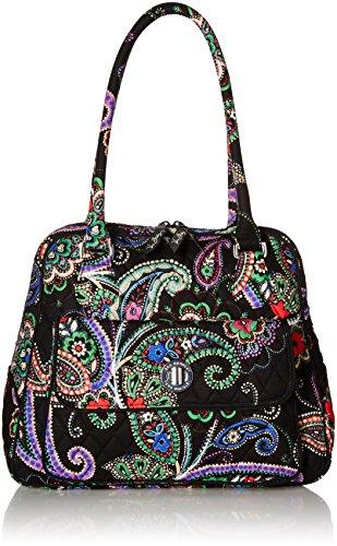 5bd9daff9758 Vera Bradley Turnlock Satchel 2.0 Shoulder Bag – Anna s Collection