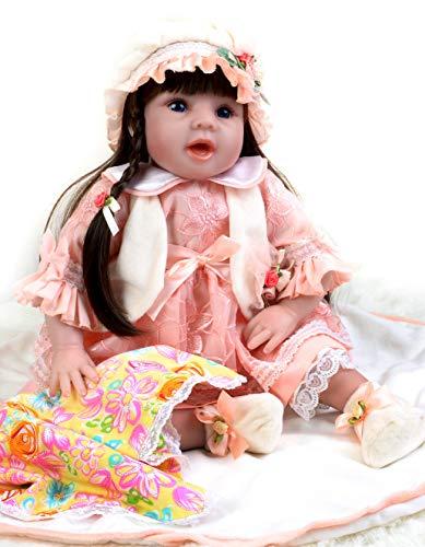 Sweet Collection Lifelike Reborn Baby Doll Princess 8-Piece Gift Set 22