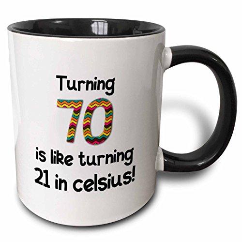 3dRose Turning Celsius Humorous Birthday