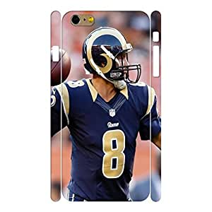 Designed Hard Sports Series Football Player Photograph Phone Shell for Iphone 6 Plus Case - 5.5 Inch