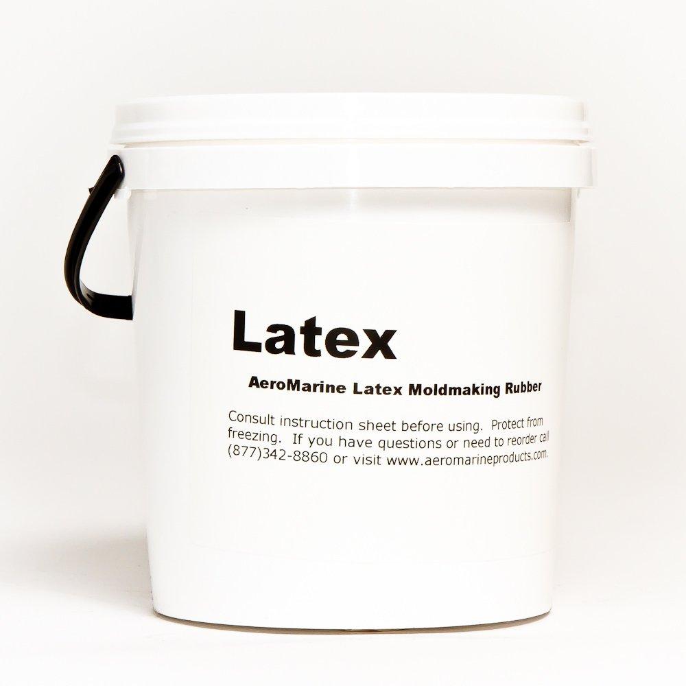 AeroMarine Liquid Brushable Latex Mold Making Rubber 0.5 gallons