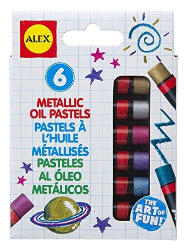 Metallic Pastels Oil (ALEX Toys Artist Studio Metallic Oil Pastel Set)