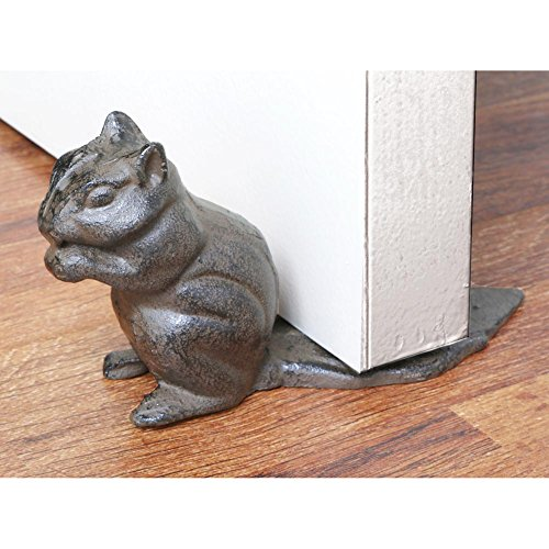 Cast Iron Chipmunk Floor Stop product image