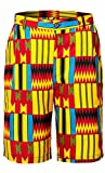Shenbolen Men African Pants Dashiki Ankara Tradition Clothing(A,Medium)