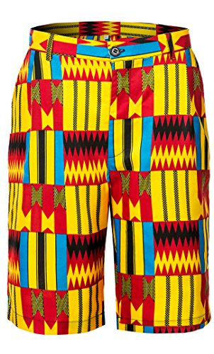 Shenbolen Men African Pants Dashiki Ankara Tradition Clothing(A,Medium) by Shenbolen