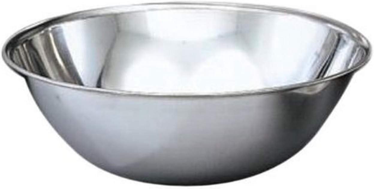 Vollrath Economy Mixing Bowl, Stainless Steel, 13-Quart