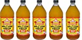 Bragg Usda Organic Raw Apple Cider Vinegar TlzdGp, 32 Fluid Ounce, 5 Pack