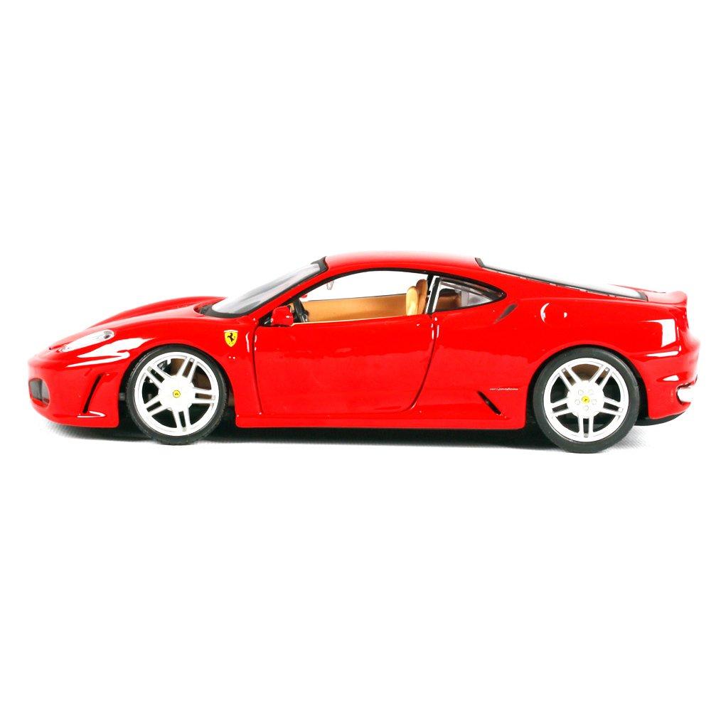 Penao Ferrari F430 Legierung Auto Simulationsmodell, Auto Ornamente, Verhältnis 01:24