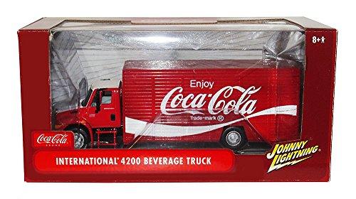 Johnny Lightning Coca-Cola Diecast International 4200 Beverage Truck 1:24 (Coca Cola Delivery Truck)