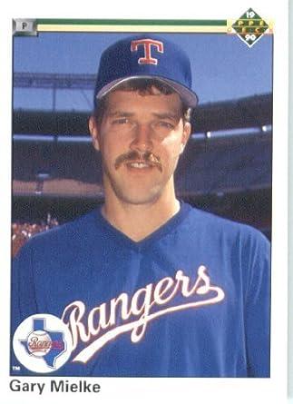 Amazoncom 1990 Upper Deck Baseball Card 612 Gary Mielke