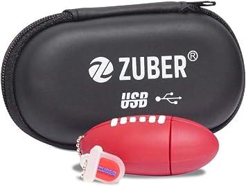 ZUBER – Memoria® novedad pelota de rugby llave de memoria ...