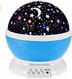 Proyector de Estrellas LED Proyectores Recargable USB Y 3 x AA Batería Led Proyector de Estrellas para Crear Un Mundo de Los Cuentos de Hadas y Dar Placer Navidad Regalo para Niños Niñas Mujeres Hombres 360 Grados de Rotación 4 Lámparas LED 3 Modo de Luz Fuente de Luz Decoración de la Casa Fiesta Navidad Luz Led Estrellas Proyector