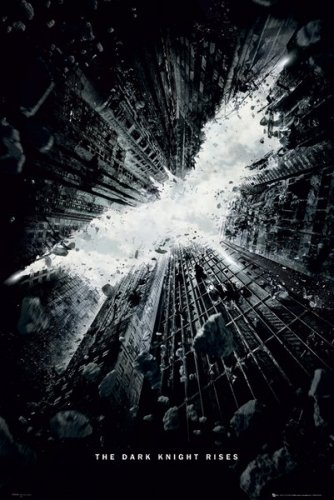 Batman: The Dark Knight Rises - Movie Poster Teaser / Bat Logo By Stop