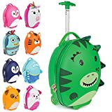 Boppi Tiny Trekker Kids Luggage Travel Suitcase Carry On Cabin Bag Holiday Pull Along Trolley...