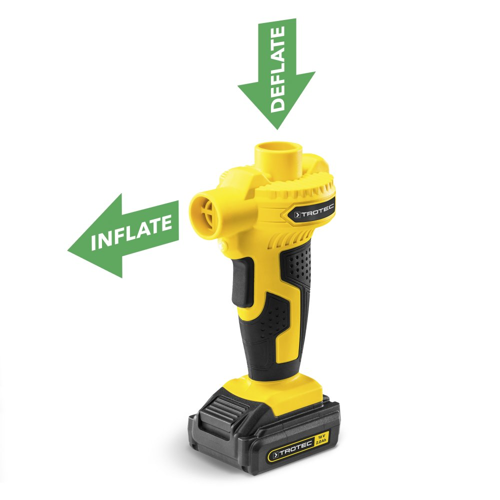 TROTEC Compresor de batería PCPS 10-16V y Bomba de aire de batería PCPS 11-16V: Amazon.es: Bricolaje y herramientas