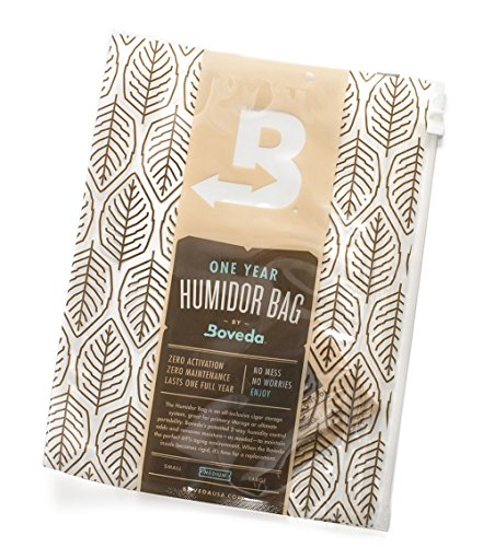Boveda Humidor Bag -Medium Travel Humidor, 11 X 8 Inch Perfect Humidor Bag for Cigars