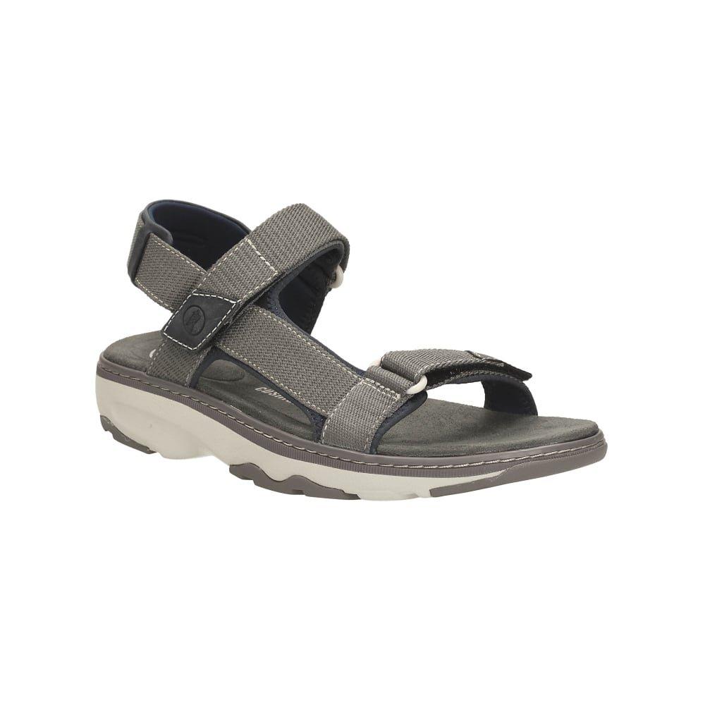 f8718474ef67 Clarks Men Casual Raffe Shore Textile Sandals UK Size 10 G  Amazon.co.uk   Shoes   Bags