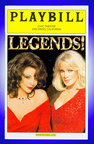 Legends + playbill + Linda Evans