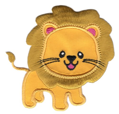 PatchMommy Iron On Applique Patch, Lion - Kids Baby (Patch The Lion)