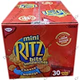 Ritz BITS Sandwiches Cheese (30 x 42g-Pack)