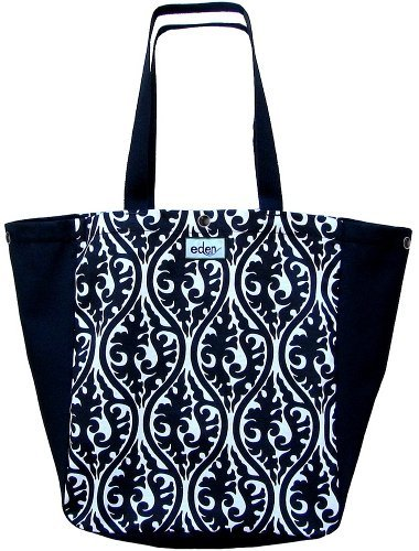 Eden Bags Midnight Topiary Large Tote Bag USA Recycled Plastic - Eden Shopping Center