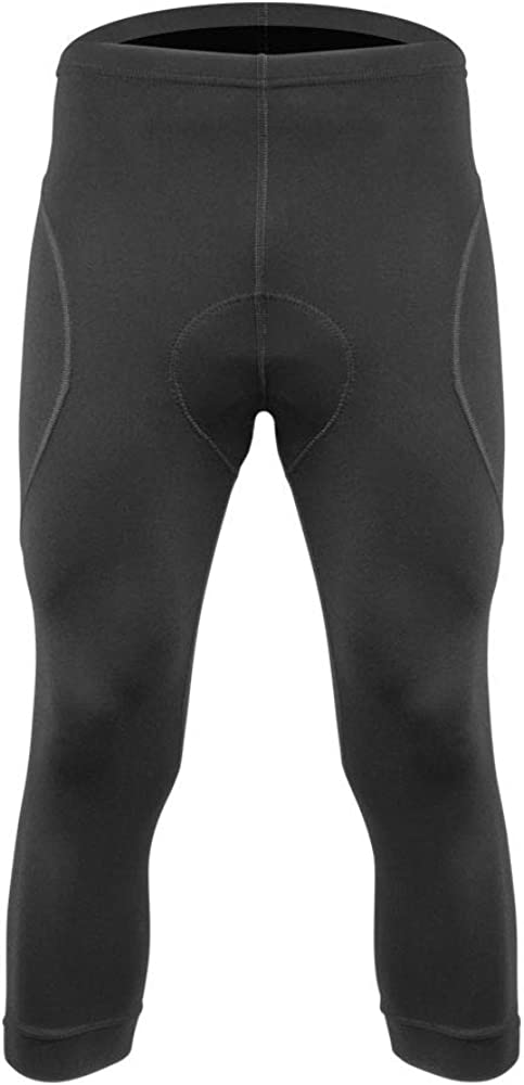 Made in The USA Mens Victor Padded Cycling Knickers Soft Supplex Fleece