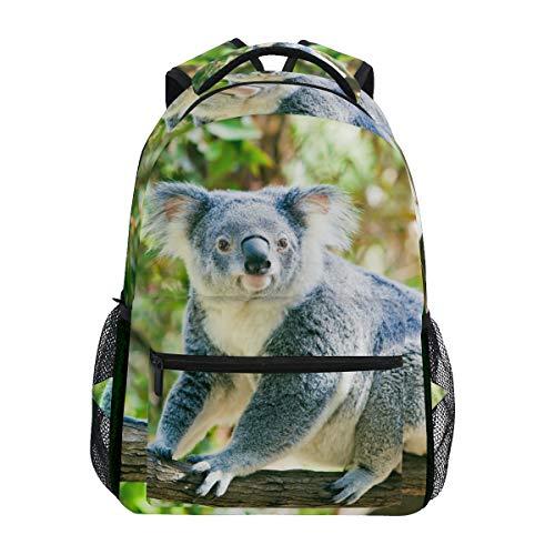 Cute Koala Backpacks Travel Laptop Daypack School Bags for Teens Men Women