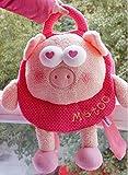 30*28 cm Genuine metoo microphone rabbit cartoon child small plush doll shoulder satchel
