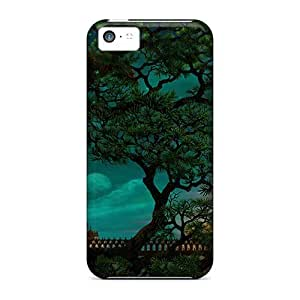 Hot Fashion Design Case Cover For Iphone 5c Protective Case (castle Of Wizards)