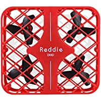 Owill DFD Mini Reddie RC Quadcopter 2.4G 4CH 6-Axis 3D Anti-Crush UFO Drone Headless Mode/Good For Beginners (Red)