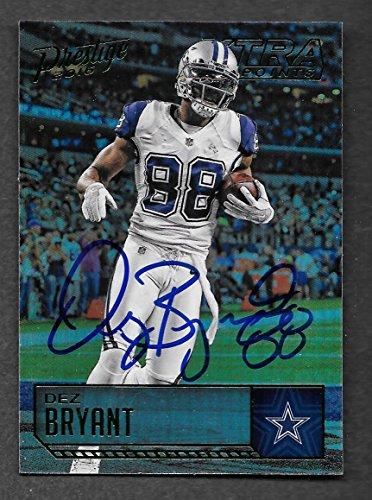 Dez Bryant Autographed Signed Dallas Cowboys 2016 Panini card - NM/MT - MT Condition!