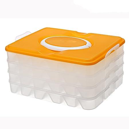 Dumplings contenedor de alimentos jecxep recipiente para sushi con ...