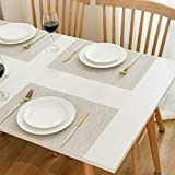 DOLOPL Placemats Placemat Cream Placemats Set of 6