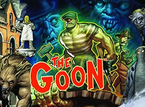 Savage Worlds: The Goon. GM Screen and The Great Bollaire Street Block Party Adventure (S2P11301)