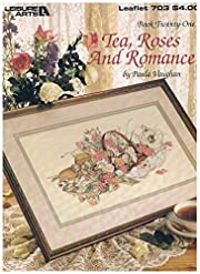 Tea Roses and Romance (Leaflet 703) de Paula…