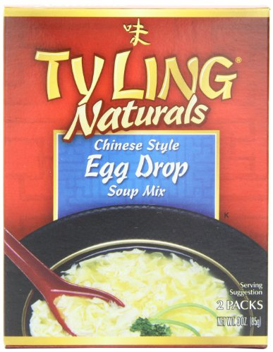 Tyling Egg Drop Soup, 3-Ounce Boxes (Pack of 12) (Ty Ling Fortune Cookies)