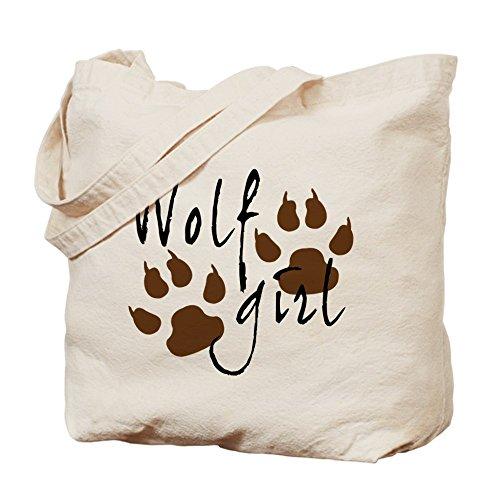 CafePress Unique Design Wolf Girl Tote Bag - Standard Multi-color by CafePress