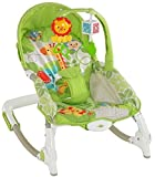 Baby Bucket Newborn to Toddler Portable Rocker Bouncer With Selectable Vibrator Mode And Toys