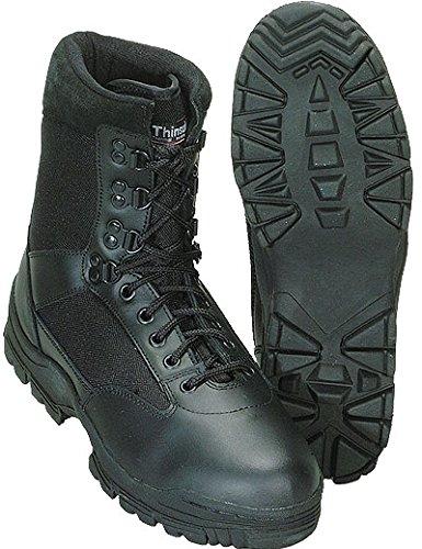 Brandit Tactical Boots Schwarz, Schwarz, 39