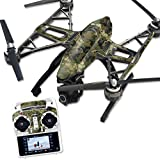 MightySkins Protective Vinyl Skin Decal for Yuneec Q500 & Q500+ Quadcopter Drone wrap cover sticker skins TrueTimber Viper Woodland