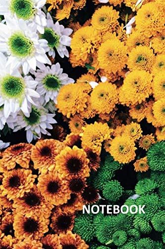Notebook: Chrysanthemum symbolism Colorful Composition Book Daily Journal Notepad Diary Student for notes on how to start a flower shop business