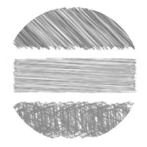 alfombrilla de ratón Gris Diagonal Strokes fondo dibujado. - ronda - 20cm
