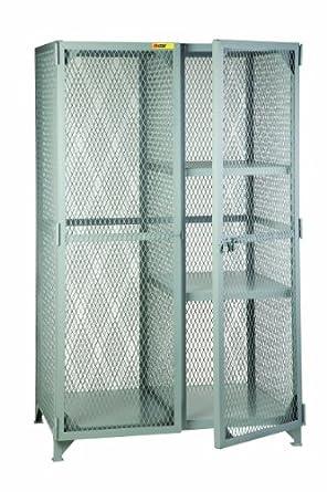 Little Giant SLC 2 2460 Combination Cabinet With 2 Half Shelves, 60u0026quot;