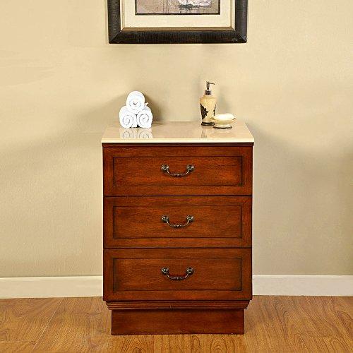 55 5 single sink marble top bathroom vanity modular 2 piece cabinet furniture 270c steam for Modular bathroom vanity pieces